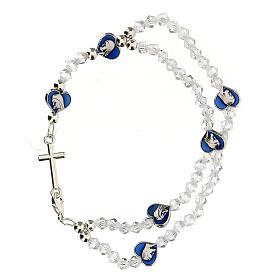Bracelet élastique avec grains en cristal 3 mm s2