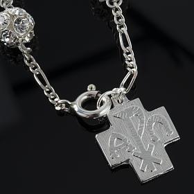 Rosary bracelet, swarovski, 925 silver s4