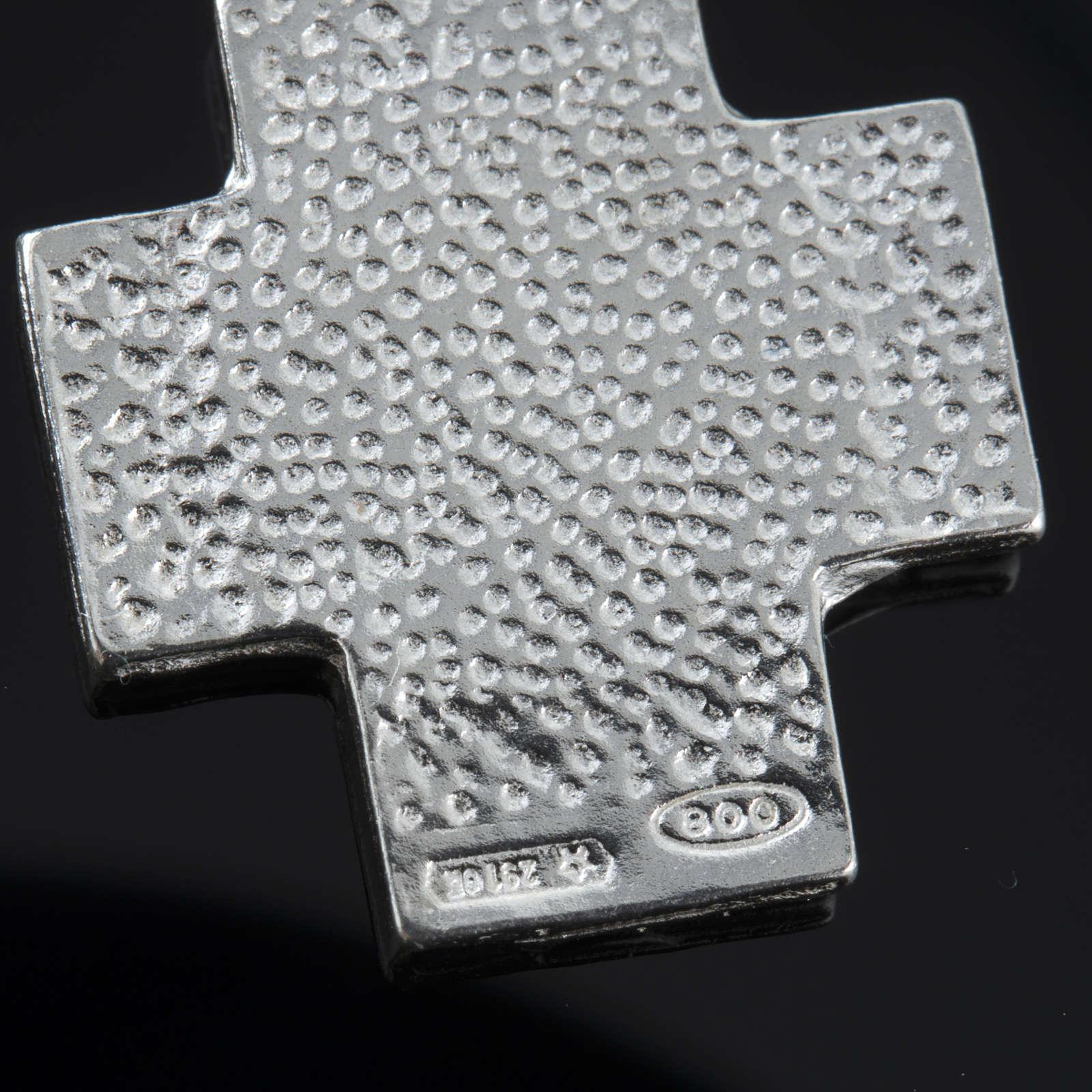 Pulseira dezena prata Swarovski 8 mm 4