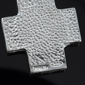 Pulseira dezena prata Swarovski 8 mm s5