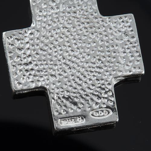 Pulseira dezena prata Swarovski 8 mm 5