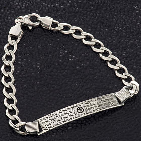 Hail Mary bracelet in sterling silver s7