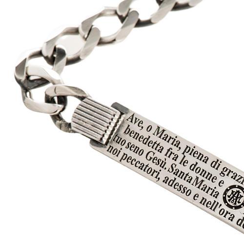 Hail Mary bracelet in sterling silver 2