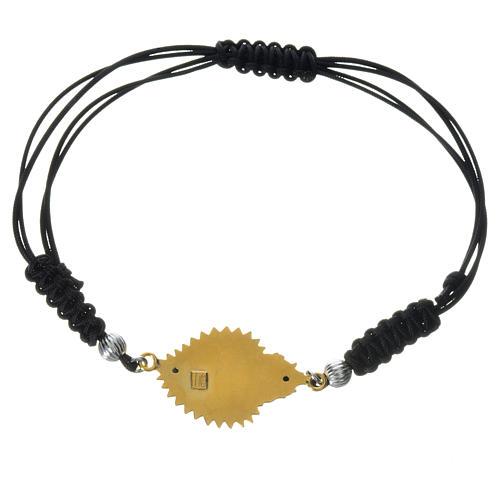 Bracelet with Exvoto heart in 925 silver 2