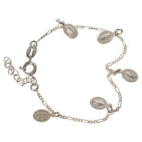 Silver bracelets: Bracelet in 925 silver with Miraculous Medals