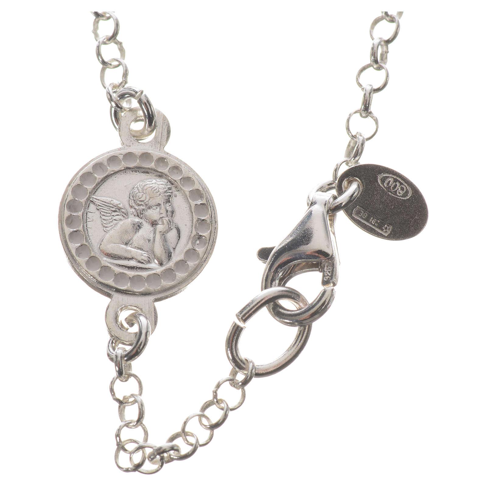 Pulsera en plata 925 y Swarovski con gancho abres y cierras 4