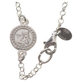 Pulsera en plata 925 y Swarovski con gancho abres y cierras s2