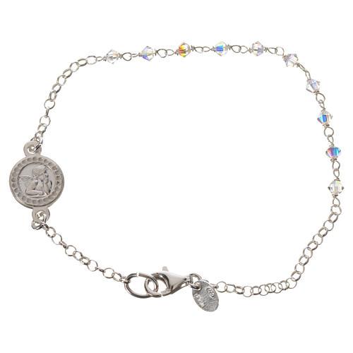 Bracelet argent 800 et Swarovski 1