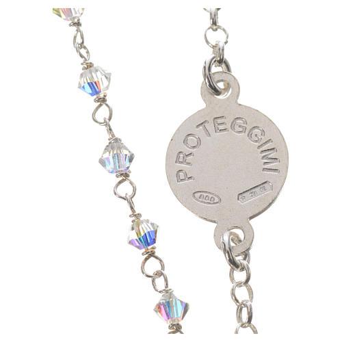 Bracelet argent 800 et Swarovski 3