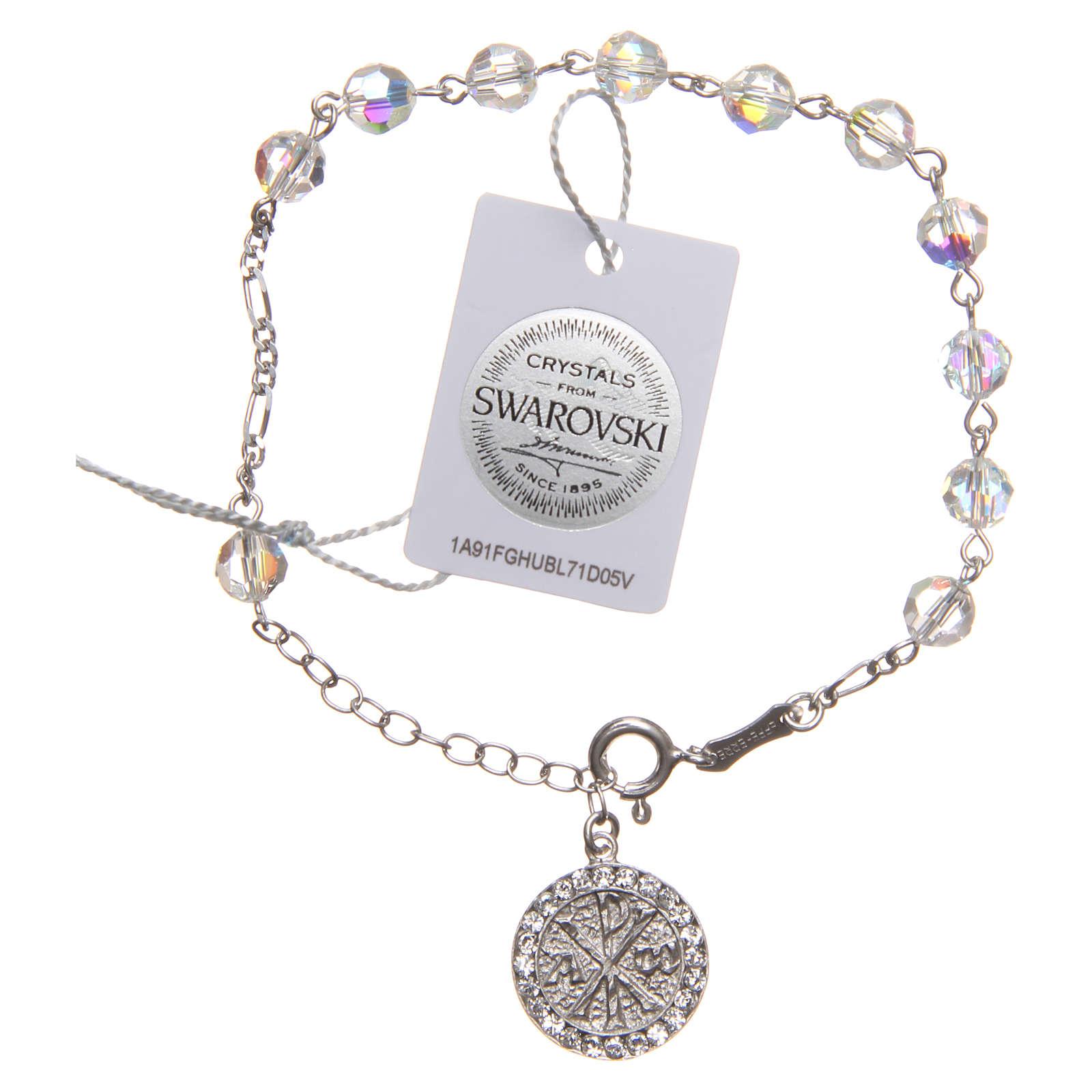 Bracelet argent 925 Swarovski PAX 4