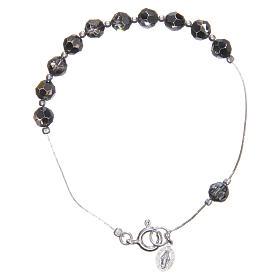402da1fd8cd Pulseira em prata 925 diamantada e Swarovski Nossa Senhora