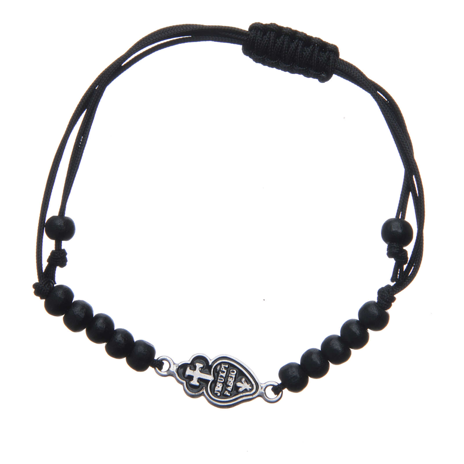 Bracelet with Passionists symbol in 925 silver 4