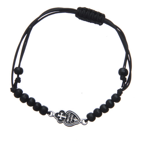 Bracelet with Passionists symbol in 925 silver 1