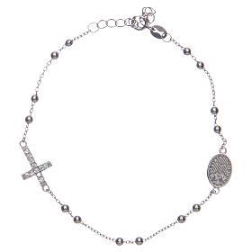 Braccialetto decina Santa Rita silver zirconi bianchi argento 925 s2