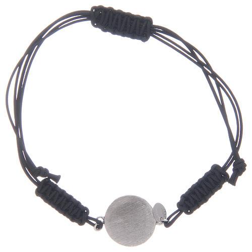Pulsera cuerda Medalla Milagrosa plata 925