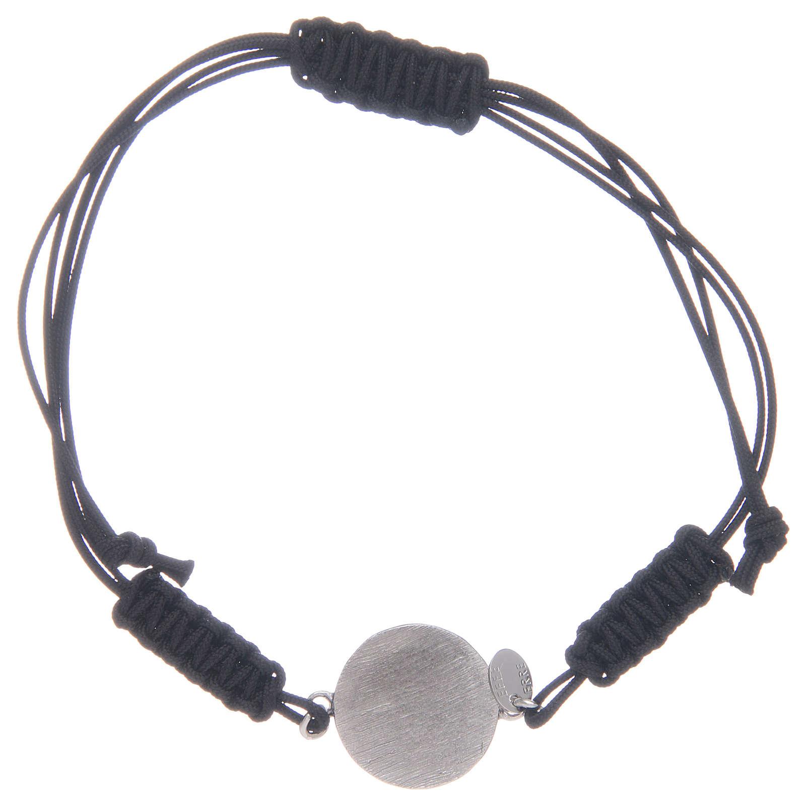 Bracelet corde Médaille Miraculeuse en argent 925 4