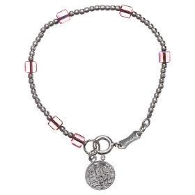 Our Lady of Fatima bracelt for child with Swarovski crystal s1