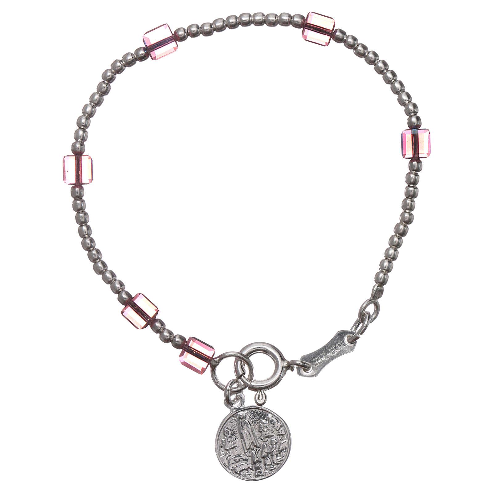 Our Lady of Fatima bracelt for child with Swarovski crystal 4
