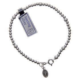 Bracciali in argento: Bracciale  in argento 925 con medaglia Miracolosa