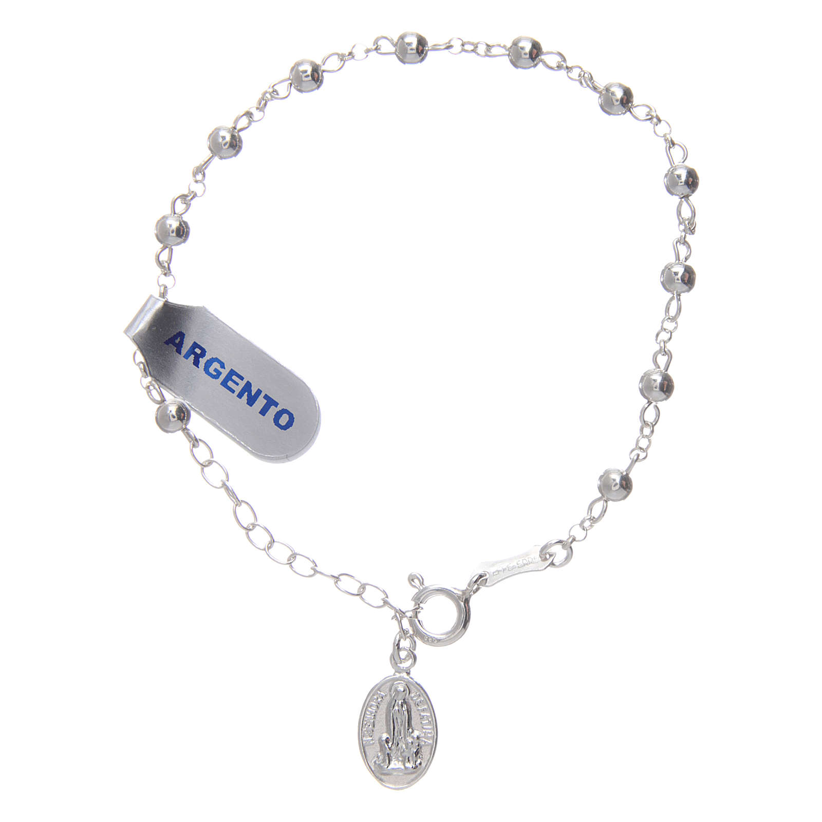 Bracelet argent 925 Fatima centenaire 4 mm 4