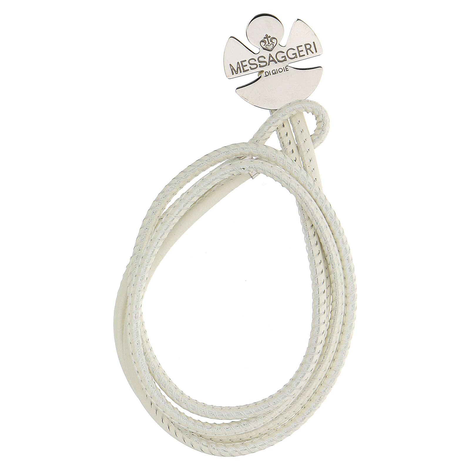 Bracelet ange argent 925 Messaggeri di Gioie blanc 4