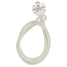 Bracelet ange argent 925 Messaggeri di Gioie blanc s1