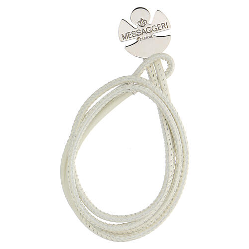Angel bracelet in 925 silver, Messaggeri di Gioie white 1