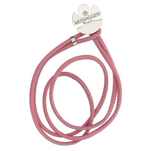 Bracelet ange argent 925 Messaggeri di Gioie rose 1