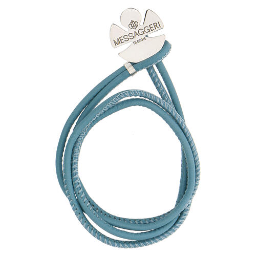 Bracelet Messaggeri di Gioie in 925 silver, sky blue 1