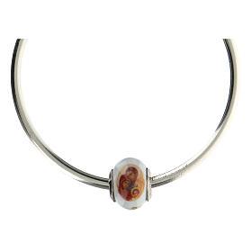 Charm Sagrada Familia para pulseras vidrio Murano plata 925 s4