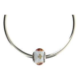Charm Sagrada Familia para pulseras vidrio Murano plata 925 s5