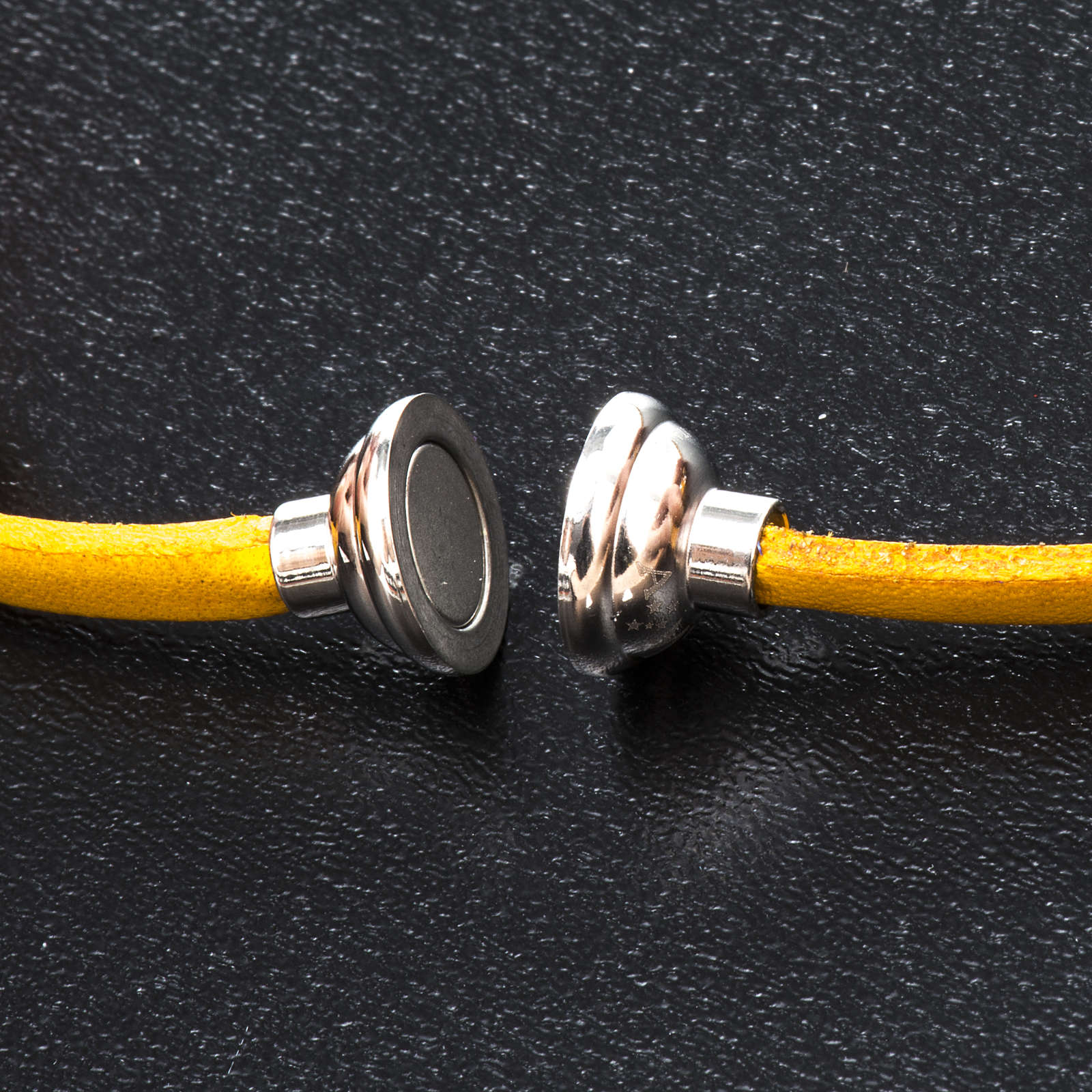 Bracelet Amen Notre Père jaune ESP 4