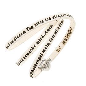Bracelet Amen Ange de Dieu blanc ALL s1