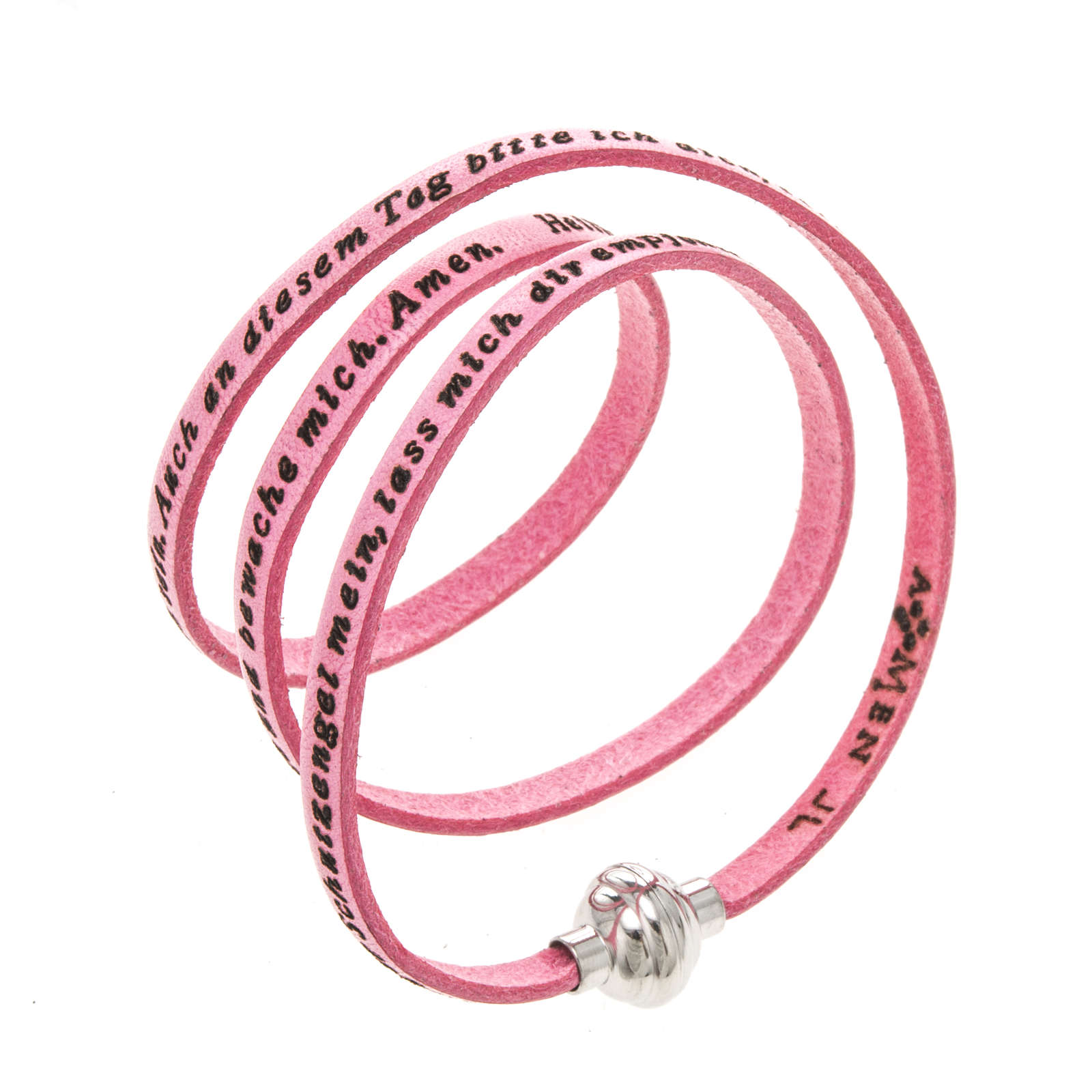 Bracelet Amen Ange de Dieu rose ALL 4