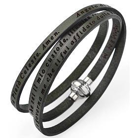 AMEN bracelets: Amen bracelet, Angel of God in Italian, army green