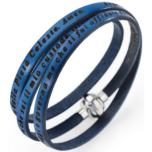 Bracciale AMEN Angelo di Dio blue jeans ITA 1