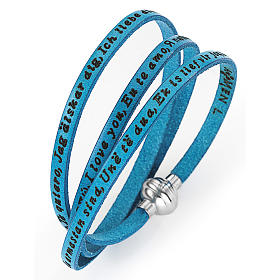 Amen bracelet I love you, turquoise s1