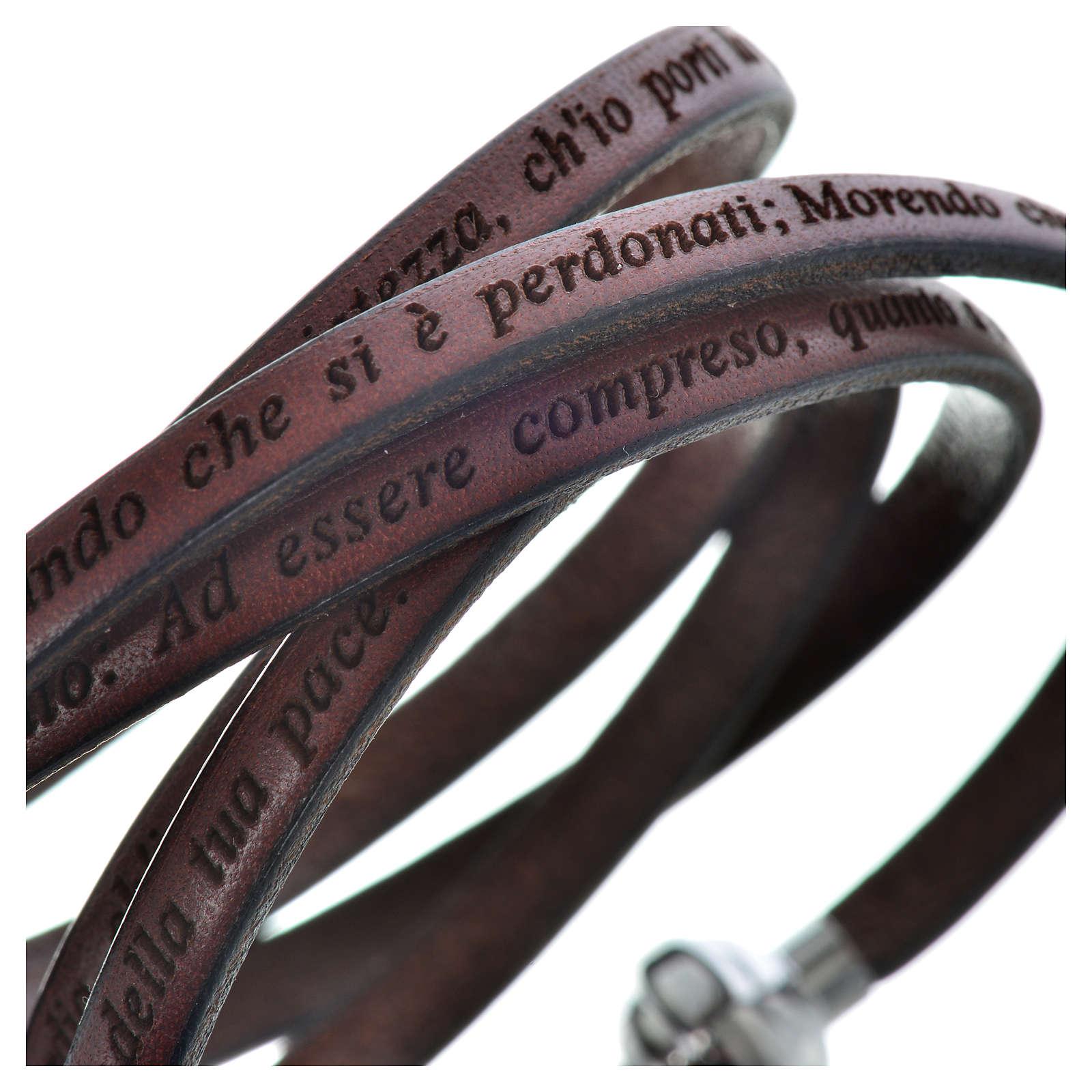 Bracelet AMEN prière Pape François italien 4