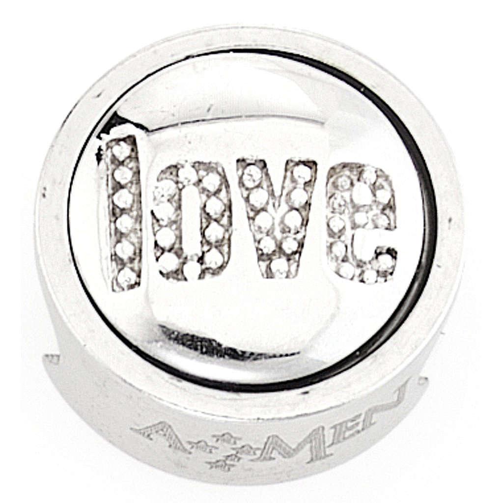 Charm per bracciale AMEN Love Amore 4