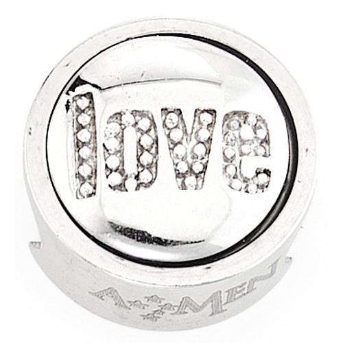 Charm per bracciale AMEN Love Amore 1