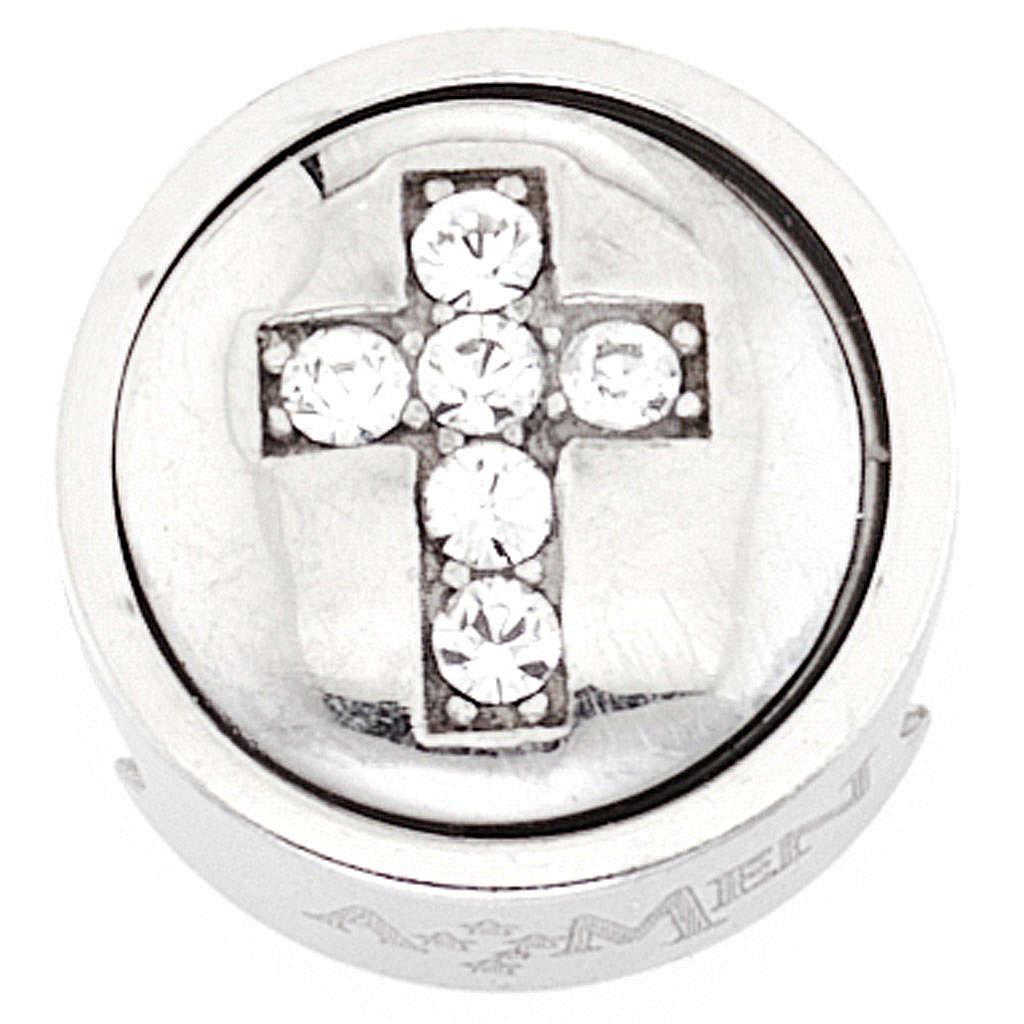 Charm per bracciale AMEN Croce Sacrificio 4