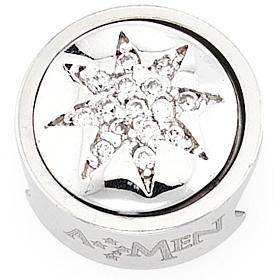 Charm pour bracelet AMEN étoile 8 pointes Vierge Marie s1