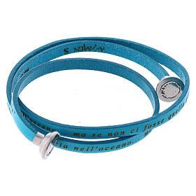 Amen Italian Leather Bracelet