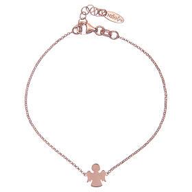 AMEN bracelets: Bracelet AMEN Angel silver 925 Rosè finish