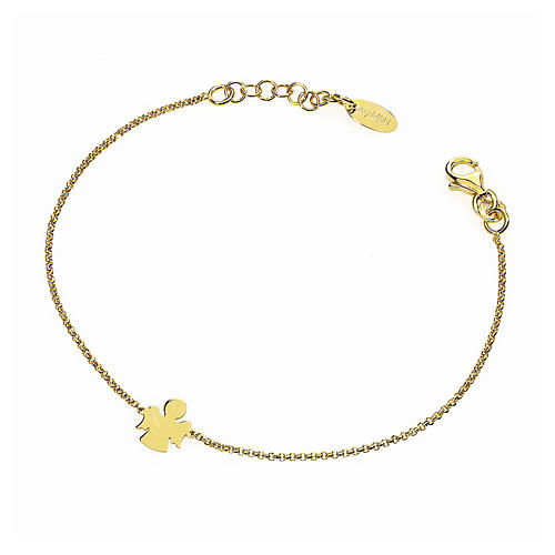 Bracelet AMEN Angel silver 925 Gold finish 1