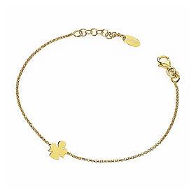 Bracelet AMEN Ange argent 925 fin. or s1