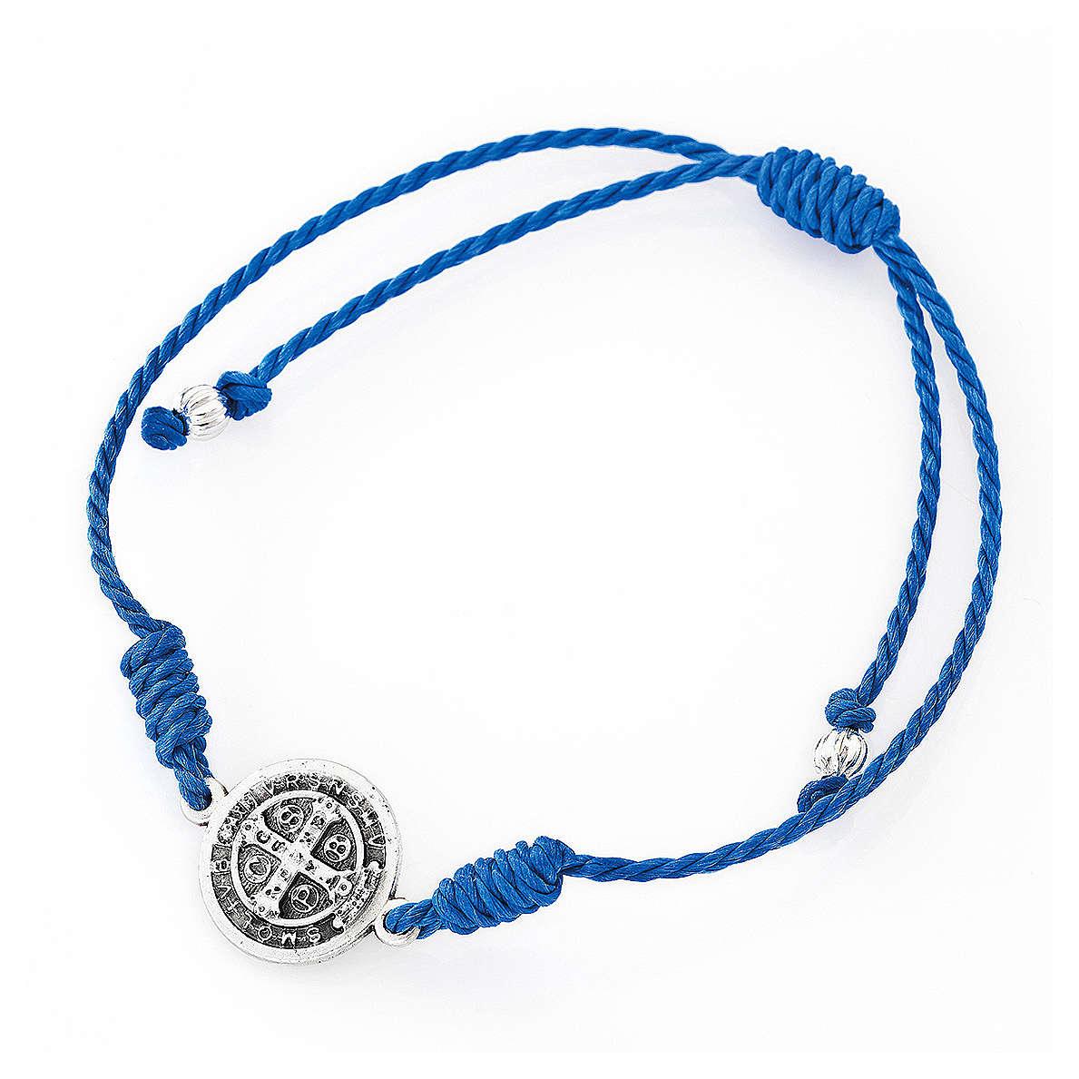 Bracelet AMEN Saint Benoît bleu 4