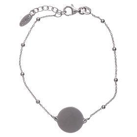 Bracciale AMEN argento 925 Albero della Vita rodiato e rosè s2
