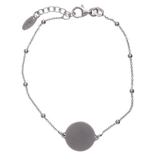 Bracciale AMEN argento 925 Albero della Vita rodiato e rosè 2