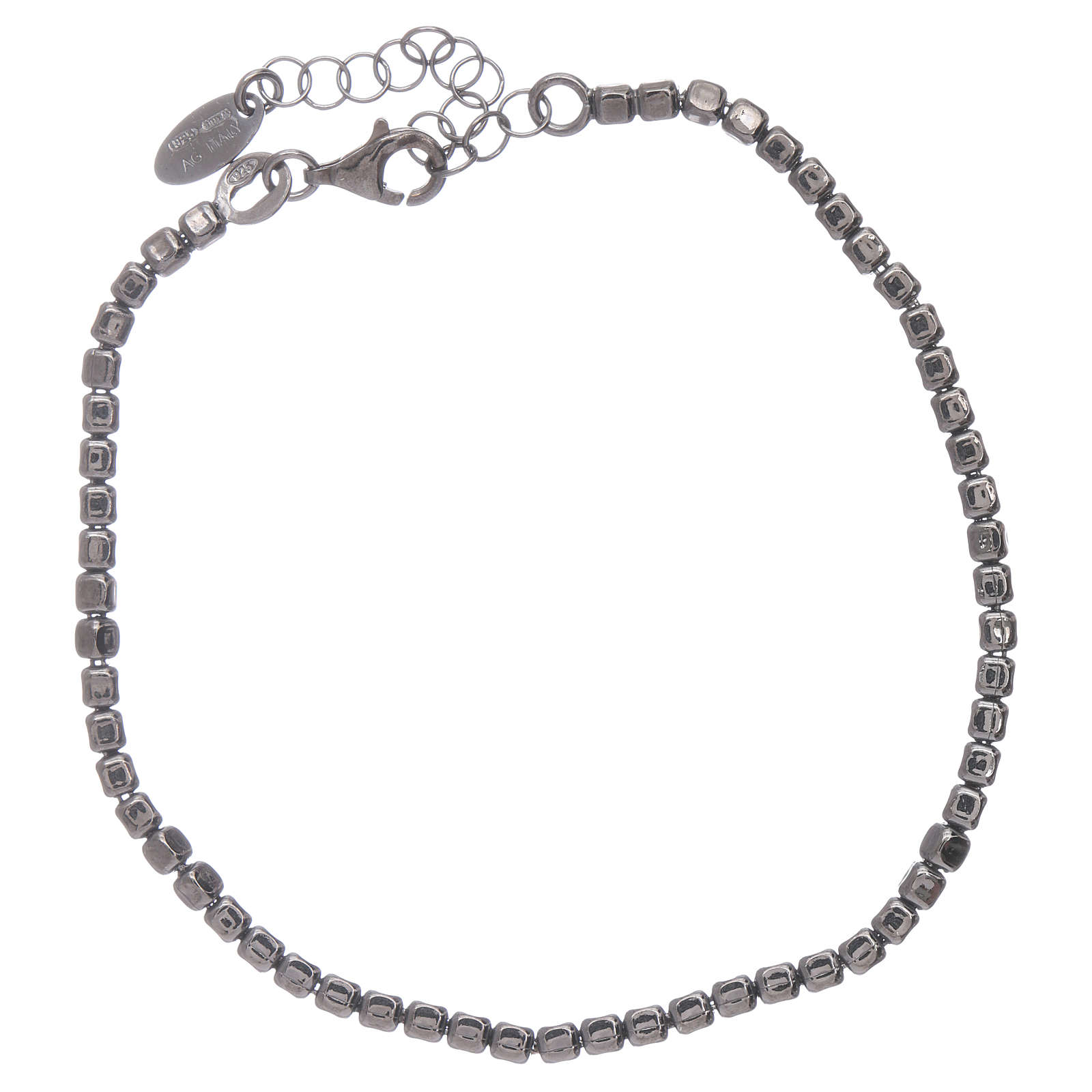 AMEN 925 rhodium plated sterling silver bracelet 4